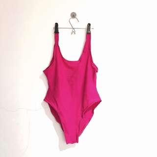 Bright Pink Swimwear