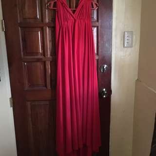 Infinity Red Dress