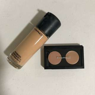 MAC FOUNDATION & CONCEALER
