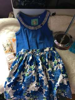 Gingersnaps sleeveless & skirt size 6-8 free shipping metro manila only