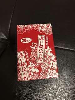 🚚 全新盒裝 ㄧ蘭 辣椒粉 20入