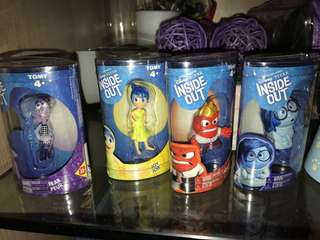 🚚 Inside out Figurines