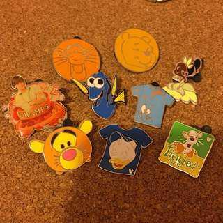 迪士尼 襟章 徽章 Disney pin Disneyland Pins