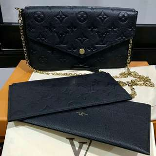 LIKE NEW LV Felice Complete set with rec May 2017