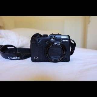 CANON G-12 Digital Camera (10-megapixel)