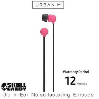 Skullcandy Jib In-Ear Noise-Isolating Earbud (Pink)