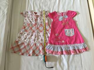 Girl Dress 2pc (2-4yo)