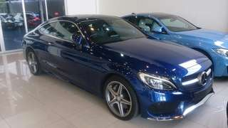 Mercedes Benz C300 Coupe AMG