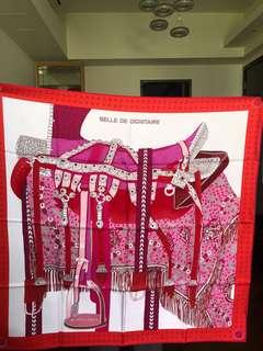 Hermes scarf 90cm silk