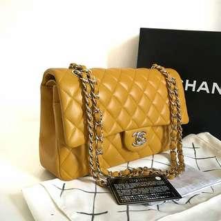 Chanel medium moutard SHW #19