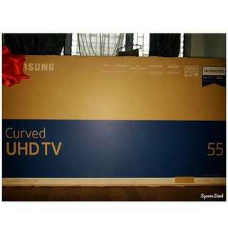 "Brand New 55"" SAMSUNG SMART UHD TV for SALE (Cash or 4mos to Pay)"