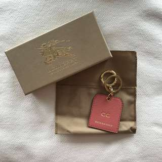 Burberry Embossed Key Chain 鎖匙扣