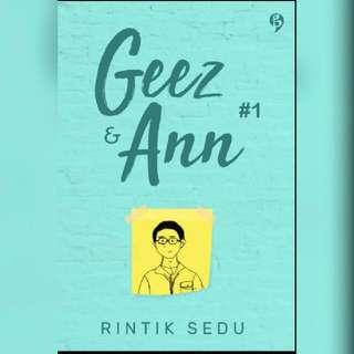 Ebook Geez & Ann 1