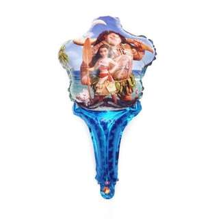 MOANA HAND HELD BALLOON 12 pcs