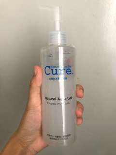 Natural Aqua Gel (Bought from Japan)