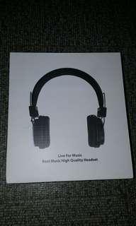 Brandnew headphone