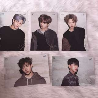 STRAY KIDS | I am not official postcards