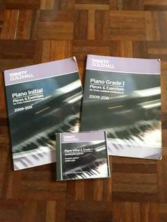 Trinity Piano books + CD