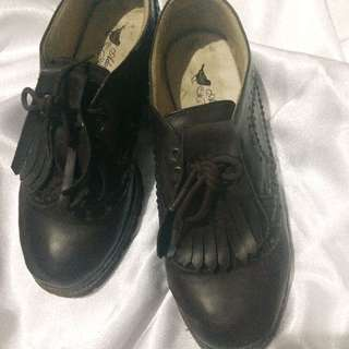 Adorable Projects Oxford Brown Shoes