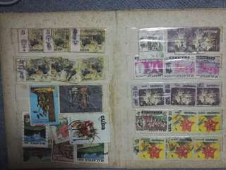 stamp colection