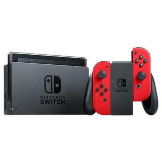 🚚 *SALE BNIB LOCAL SET Nintendo Switch Console RED
