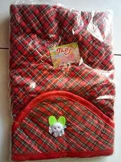 Selimut Topi Bayi / Hoodie Blanket Bayi Murah / Selimut Bayi Carter
