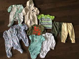 Boys 6-12 months clothes