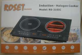Dapur Elektrik halogen cooker roset germany