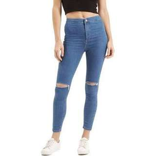 High rise Topshop Jeans