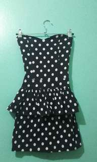 Fitted Polkadots Dress