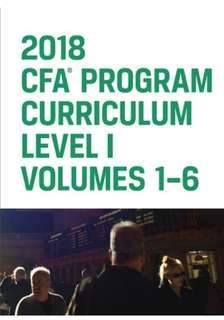 2018 CFA Level 1 Official Textbook Volume1-6