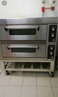 Electric Oven 2 Deck
