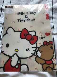 Hello Kitty & Tiny Chum A4 file