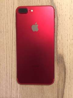 iPhone 7plus red 128gb unlocked