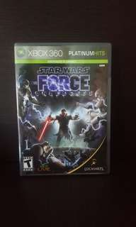 Star Wars : The Force Unleashed Xbox One / Xbox 360