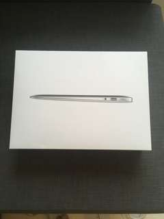 Macbook Air 13 Inch BOX only