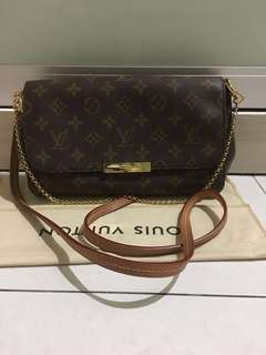 Louis Vuitton favourite MM(reduced price)