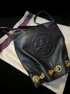 Preloved authentic tory burch Fleming mini back pack on sale
