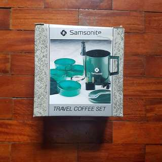 Samsonite Travel Coffee Set