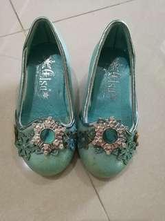 Authentic Disney store frozen Elsa princess shoes