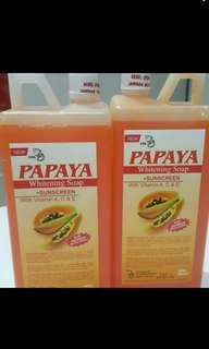 pepaya whitenning soap