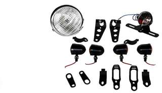 Set light Caferacer Honda Yamaha Motor