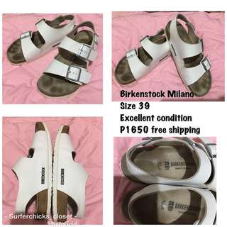 BIRKENSTOCK MILANO authentic
