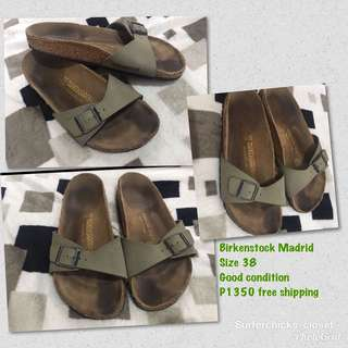 BIRKENSTOCK MADRID Authentic