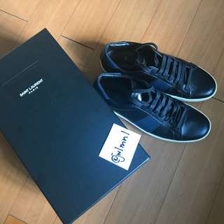 Saint Laurent SL/01 Court Sneakers