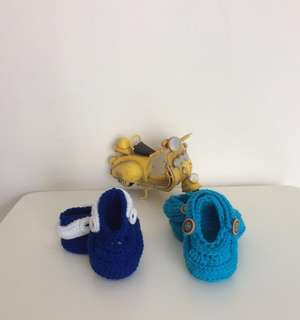 🐳Crochet Baby Molded Clogs ( Unisex)🍭