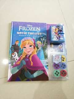 Disney frozen (Elsa, Anna) movie theater book