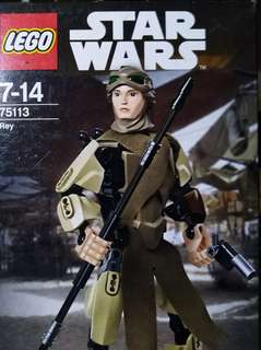 Original Lego Star Wars Buildable Figure - Rey