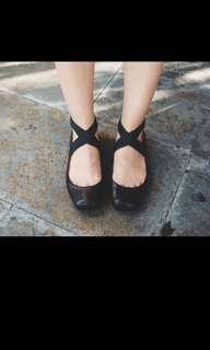 Jessic Simpson Strap Shoes