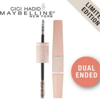 [In Stock] Maybelline - Gigi Hadid Fiber Mascara (Black)